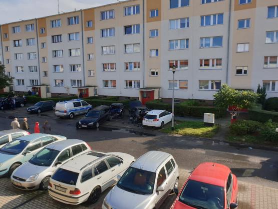 Skutki kolizji kilku aut na Chełmie
