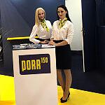 Hostessy podczas targów TRAKO 2019 w Gdańsku.