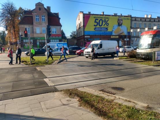 Opóźnienia tramwajów we Wrzeszczu