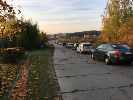 Ulica Kampinoska nieprzejezdna