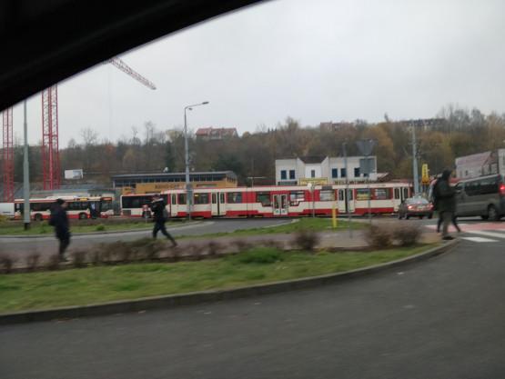 Awaria tramwaju na Siedlcach