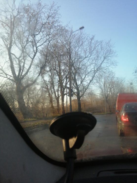 Paraliż drogowy na Stogach