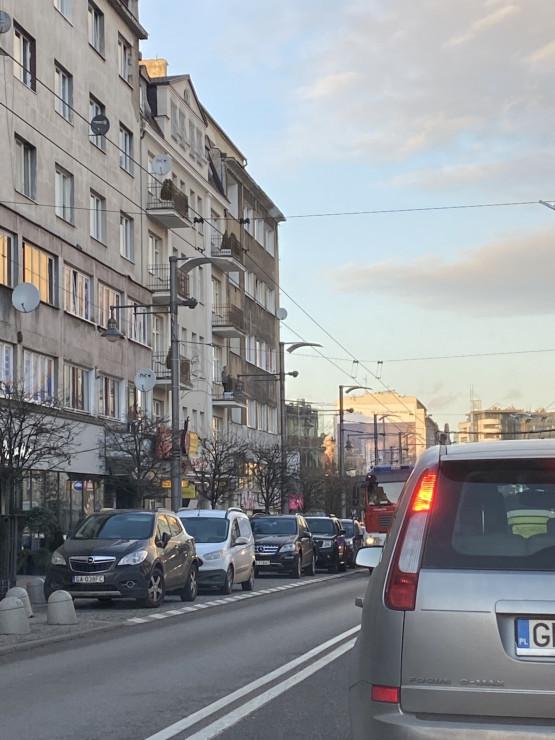 Ruch wahadłowy na Świętojańskiej w Gdyni