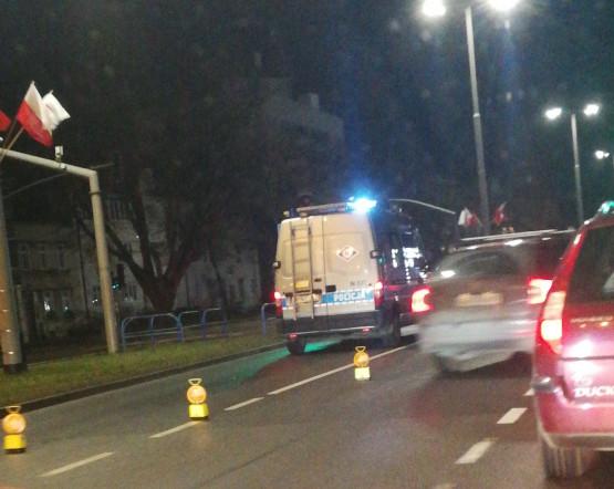 Wypadek pod Żakiem w stronę Gdyni