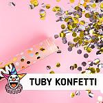 Wystrzałowe tuby konfetti - SKLEP SZALONY.PL