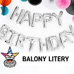 Balony foliowe LITERY - SKLEP SZALONY.PL
