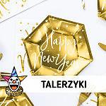 Talerzyki papierowe - SKLEP SZALONY.PL