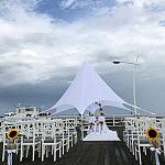 Ceremonia zaślubin Na Molo