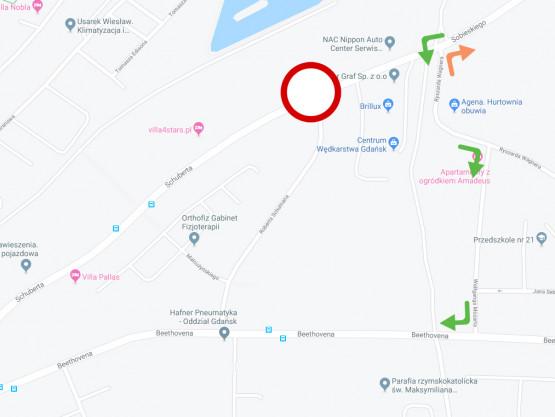 Zamknięte skrzyżowanie Schumana i Schube