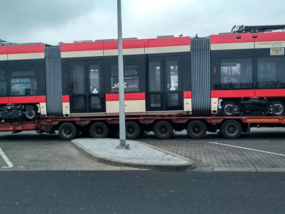 Nowa PESA w drodze do Gdańska