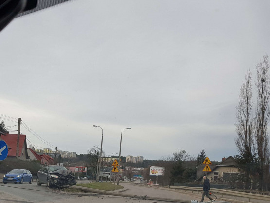 Wypadek na ul. Potokowej