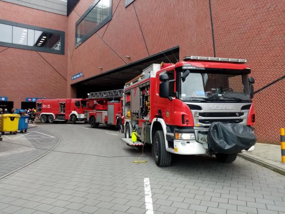 Pożar sauny w hotelu we Wrzeszczu