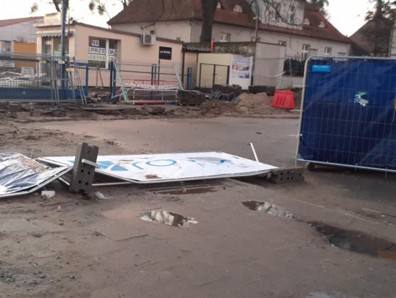 Remont Placu Dworcowego w Chyloni