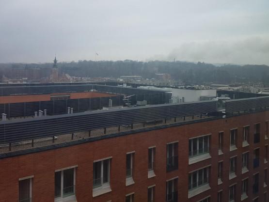 Dym nad Górą Gradową