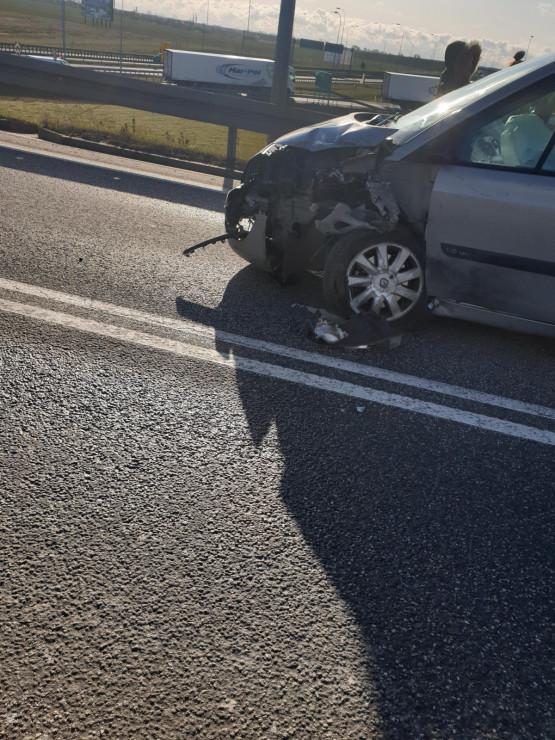 Wypadek na obwodnicy w Pruszczu Gdańskim