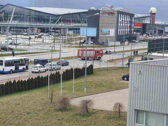 Akcja strażaków przy ul. Słowackiego