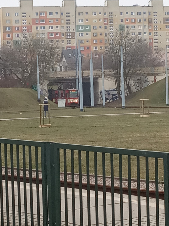 Awaria tramwaju w stronę Oliwy i Jelitkowa