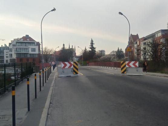 Zwężenie na Toruńskiej