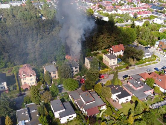Pożar w Osowej