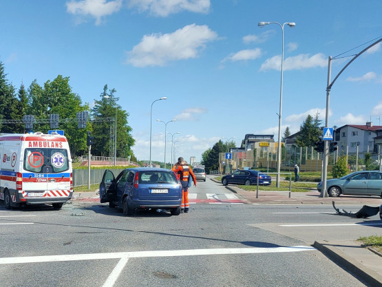 Wypadek na skrzyżowaniu Armii Krajowej i Łostowickiej