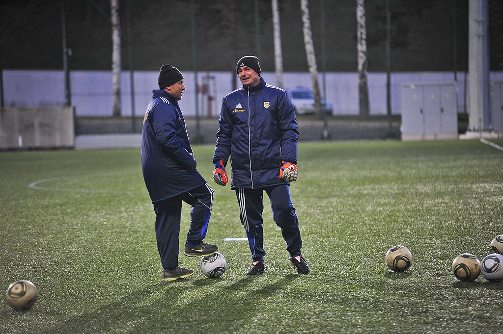 Kadra szkoleniowa Arki Gdynia, Paweł Sikora i Jarosław Krupski