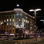 Gdynia ul.Świętojańska nocą