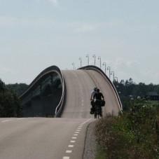 Rowerem do Szwecji: