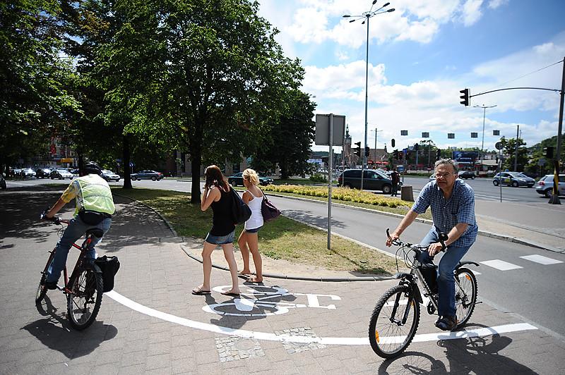 Nowe ścieżki rowerowe w Śródmieściu