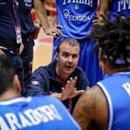 Trener Simeone Pianigiani