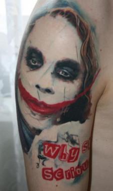 Anton Oleksenko, D3XS Tattoo