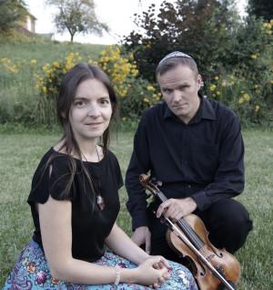Justyna Danczowska i Marcin Król