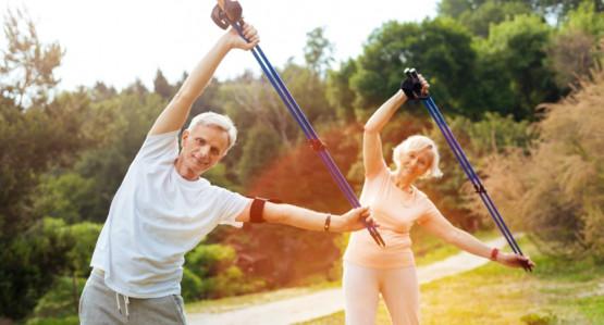 Zapraszamy na zajęcia nordic walking dla seniorów