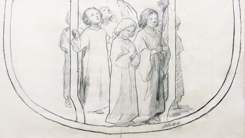 4. Józef Mehoffer, Projekt ornatu