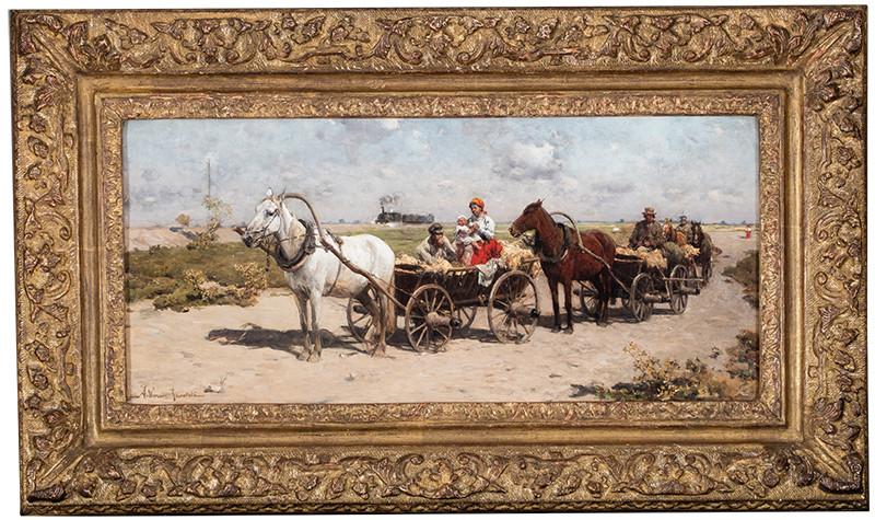 poz. 6 Alfred Wierusz-Kowalski W drodze na jarmark