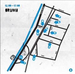 Mapa wydarzeń na Oruni