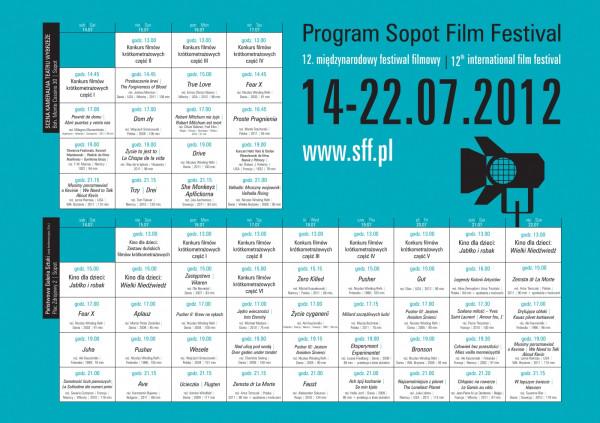 Program Sopot Film Festival.