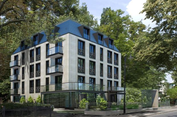 Wizualizacja koncepcyjna . Typowa dla Sopotu architektura i wysokiej jakości materiały wykończeniowe sprawią, że budynek wkomponuje się w otoczenie.