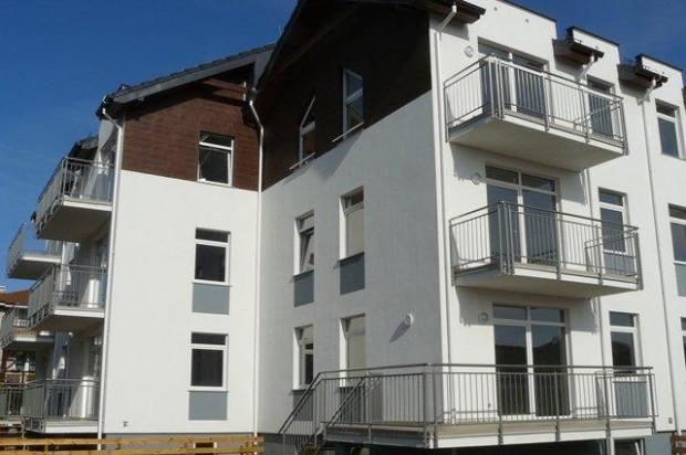 Pierwszy etap inwestycji. Atutem mieszkań są duże balkony oraz duże ogródki należące do mieszkań parterowych.