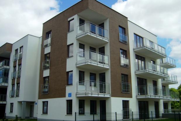 Prosta i elegancka architektura osiedla wniosła nową jakość w typowy dla Zaspy krajobraz.