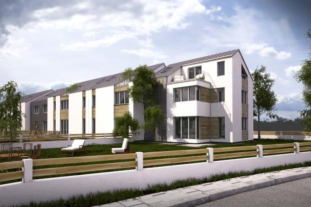Do mieszkań na parterze przylegały będą tarasy i ogrody o powierzchni do 100 m kw.