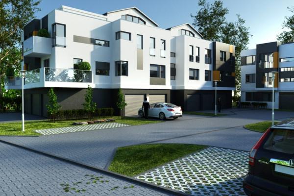 Kompleks składał będzie się zaledwie z dwóch budynków z garażami indywidualnymi.