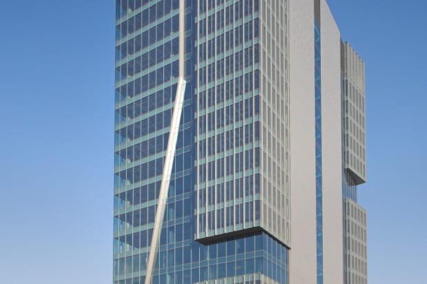 Biurowy wysokościowiec ma ponad 84 metry, 19 kondygnacji nadziemnych i trzy podziemne.