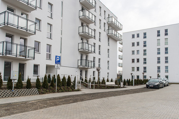 Dwa budynki osiedla Gardenia oddane do użytkowania w 2015 roku.