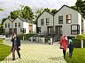 Domy w zabudowie bliźniaczej będą miały trzy kondygnacje - 178 m kw. powierzchni.