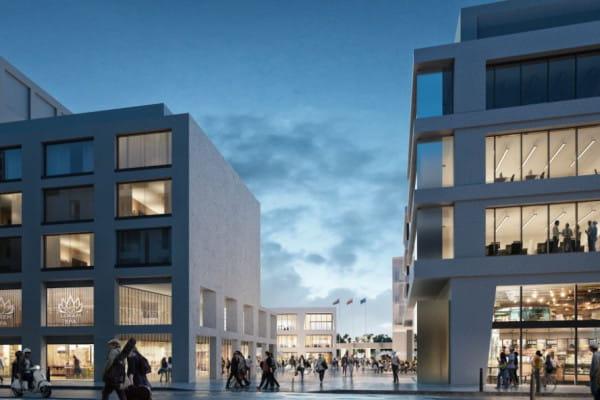 Koncepcja inwestycji Waterfront. Wizualizacje z konkursu architektonicznego.