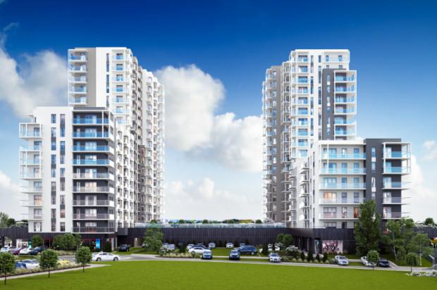 Budynki siedemnastopiętrowe powstaną bezpośrednio przy ulicy Piekarniczej.