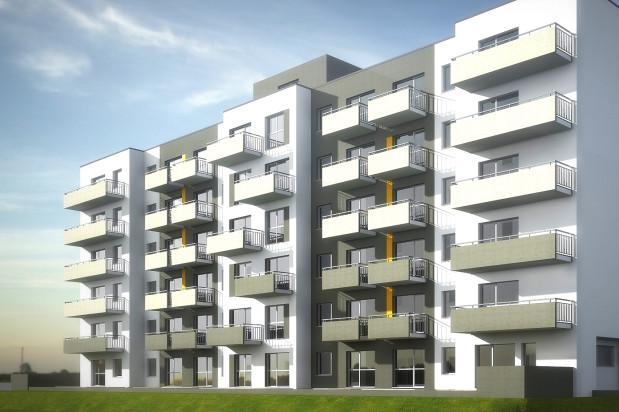 Inwestycja to sześciokondygnacyjny budynek mieszkalny.