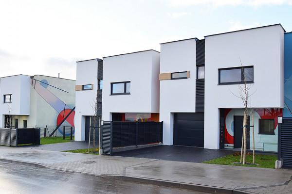 Pierwsze domy oddane do użytkowania w 2016 roku.
