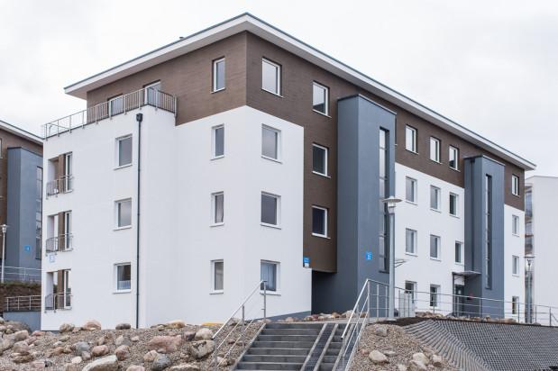 Budynek osiedla oddany w 2016 roku.
