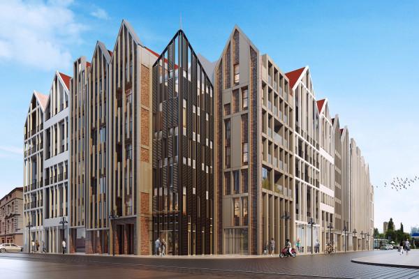 W budynku powstaną apartamenty, pokoje hotelowe typu condo oraz lokale usługowe.